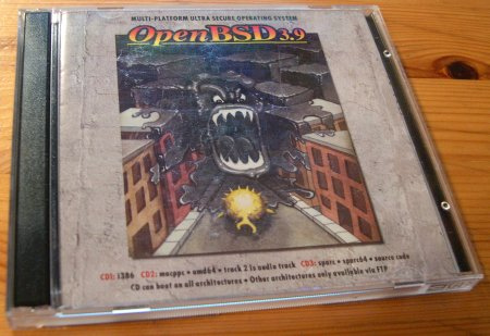 Cover openbsd cd 3.9